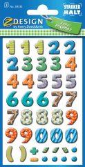 Avery 59335 öntapadó számmatrica