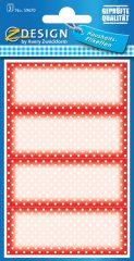Avery Zweckform Z-Design No. 59670 papír matrica befőttes üvegre - pöttyös mintával - kiszerelés: 3 ív / csomag (Avery Z-Design 59670)