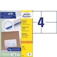 Avery Zweckform 6133 öntapadós etikett címke