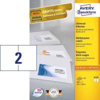 Avery Zweckform 6134 öntapadós etikett címke