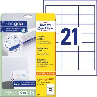 Avery Zweckform 6170 öntapadós etikett címke
