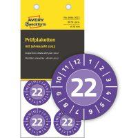 Avery Zweckform 6944-2022 felülvizsgálati címke 2022-es évszámmal