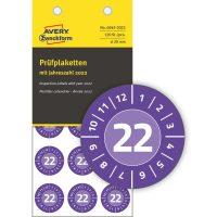 Avery Zweckform 6945-2022 hitelesítő címke 2022-es évszámmal