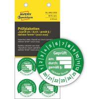 Avery Zweckform 6962-2020 hitelesítő címke 2020-2025-ös évszámmal