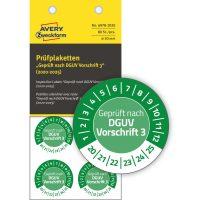 Avery Zweckform 6978-2020 hitelesítő címke 2020-2025-ös évszámmal