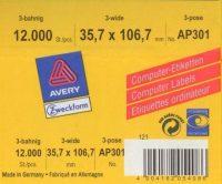 Avery Zweckform AP301 öntapadó etikett címke