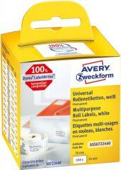 Avery Zweckform ASS0722440 tekercses címke