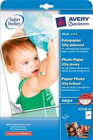 Avery Zweckform C2548-10 öntapadó fotópapír