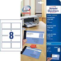 Avery Zweckform C32015-10 névjegykártya sima élekkel
