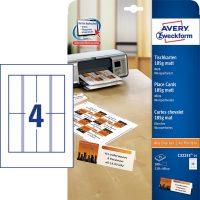 Avery Zweckform C32253-25 ültetőkártya mikroperforált élekkel