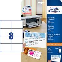Avery Zweckform C32254-25 kartoték kártya mikroperforált élekkel