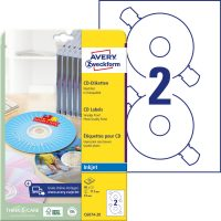 Avery Zweckform C6074-20 öntapadó CD címke
