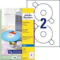 Avery Zweckform C6074-20 öntapadó CD címke