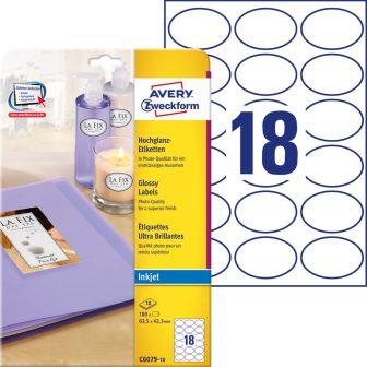 Avery Zweckform C6079-10 öntapadó etikett címke