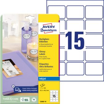 Avery Zweckform C6080-10 öntapadó etikett címke