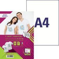 Avery Zweckform No. C9405-4HU világos pólóra, textilre vasalható fólia - méret: 210 x 297 mm (A4) - 4 ív / csomag (Avery C9405-4HU)