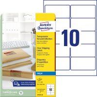 Avery Zweckform J4722-25 öntapadós etikett címke