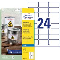 Avery Zweckform J4773-10 öntapadós etikett címke