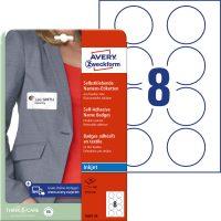 Avery Zweckform J4881-20 textilre ragasztható névcímke