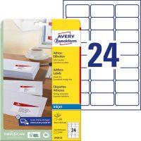 Avery Zweckform J8159-25 öntapadós etikett címke