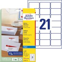 Avery Zweckform J8160-10 öntapadós etikett címke