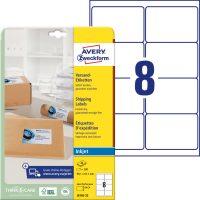 Avery Zweckform J8165-25 öntapadós etikett címke