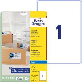 Avery Zweckform J8167-25 öntapadós etikett címke