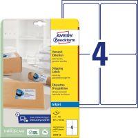 Avery Zweckform J8169-25 öntapadós etikett címke