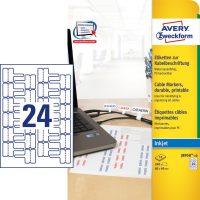 Avery Zweckform J8950-10 öntapadó etikett címke