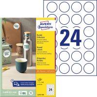 Avery Zweckform L3415-100 nyomtatható öntapadós etikett címke