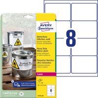 Avery Zweckform L4715-20 öntapadós etikett címke