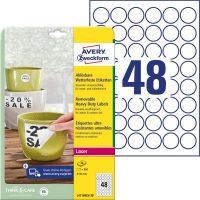 Avery Zweckform L4716REV-20 öntapadós etikett címke