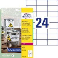 Avery Zweckform L4718-20 öntapadós etikett címke