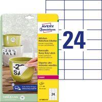Avery Zweckform L4718REV-20 öntapadós etikett címke