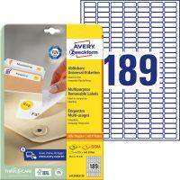 Avery Zweckform L4731REV-25 öntapadós etikett címke