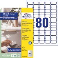 Avery Zweckform L4732REV-10 öntapadós etikett címke