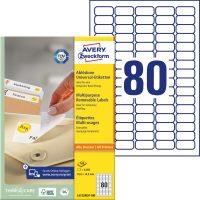 Avery Zweckform L4732REV-100 öntapadós etikett címke