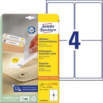 Avery Zweckform L4733REV-25 öntapadós etikett címke