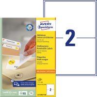 Avery Zweckform L4734REV-100 öntapadós etikett címke