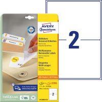 Avery Zweckform L4734REV-25 öntapadós etikett címke