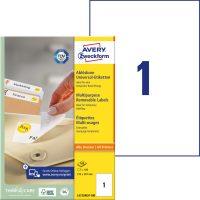 Avery Zweckform L4735REV-100 öntapadós etikett címke