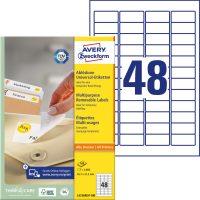Avery Zweckform L4736REV-100 öntapadós etikett címke