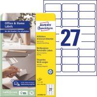 Avery Zweckform L4737REV-10 öntapadós etikett címke