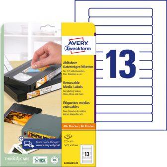 Avery Zweckform L4746REV-25 öntapadó etikett címke