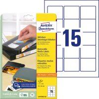 Avery Zweckform L4747REV-25 öntapadó etikett címke
