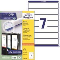Avery Zweckform L4760-100 nyomtatható öntapadós iratrendező címke