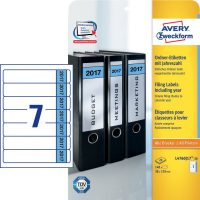 Avery Zweckform L4760J17-20 iratrendező címke