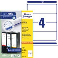 Avery Zweckform L4761-100 iratrendező címke