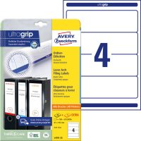 Avery Zweckform L4761-25 iratrendező címke