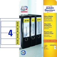Avery Zweckform L4761J16-20 iratrendező címke